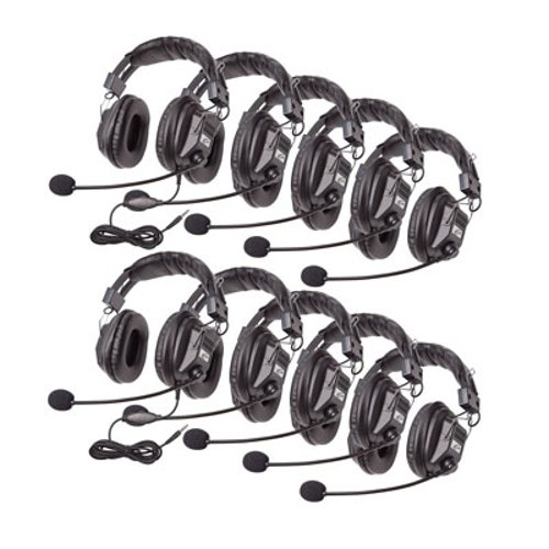 Switchable Stereo Headsets, 10 Units