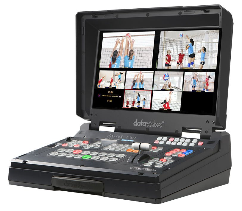 6 Input HD Mobile Studio with HD-SDI and HDMI Inputs.