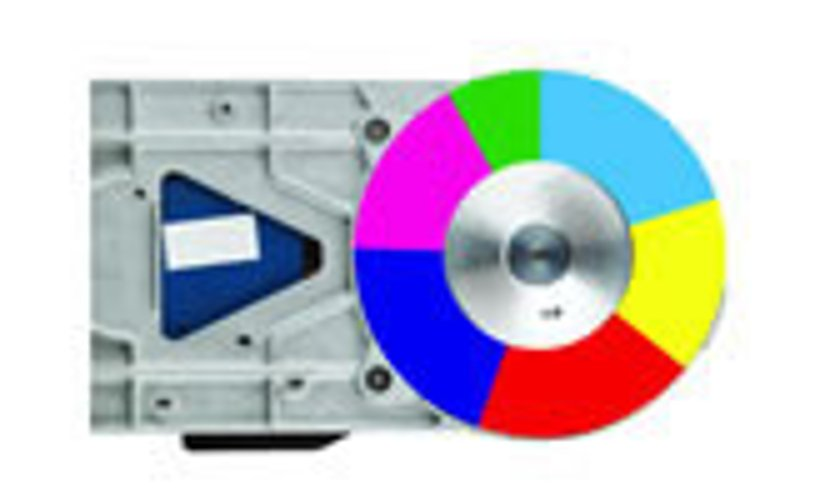 Optional Color Wheel for WU1500