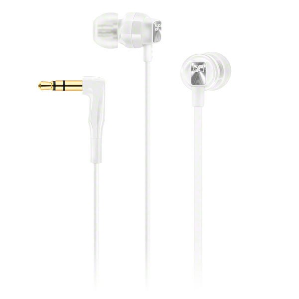 Universal In-Ear Headphone with Storage Case, White