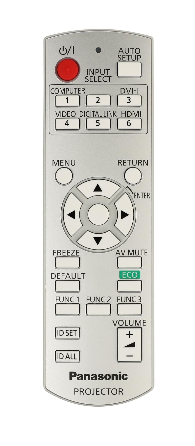 Remote Control for PT-RW430UW