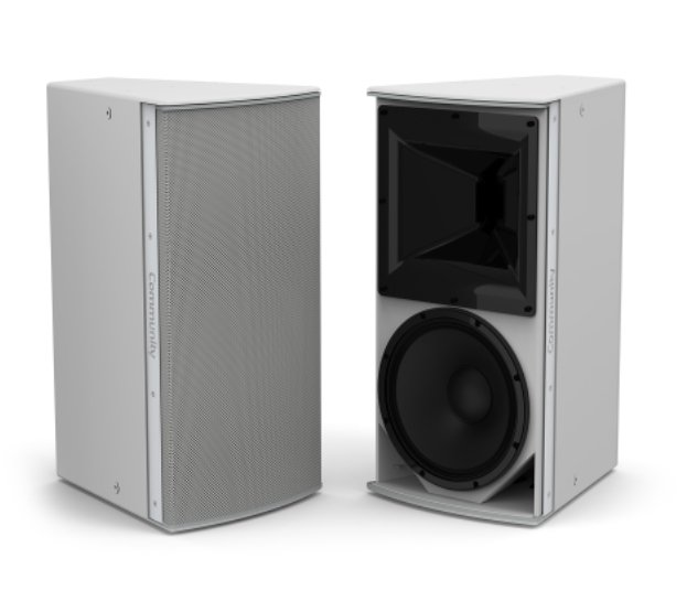 "12"" I Series Medium Power 2-Way 60 X 40 Installation Loudspeaker in Weather-Resistant Grey"
