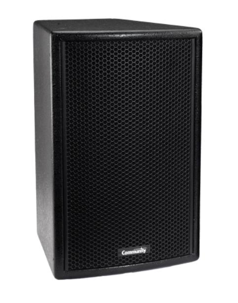 """8"""" Compact Full-Range 2-Way 90 x 70 Loudspeakers in Black"""
