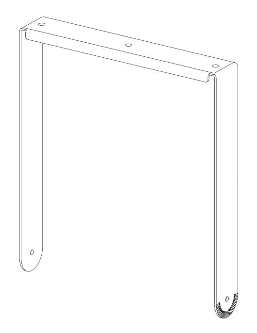 Vertical Yoke Kit for Veris2 15 in White