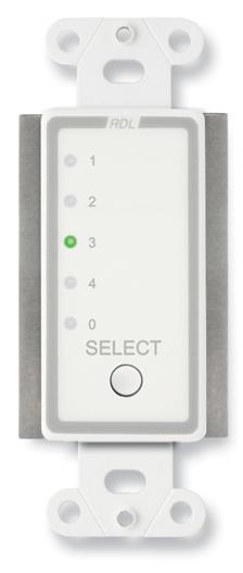 Remote Channel Selector, 4 Channels, Controls RU-ASX4D/R