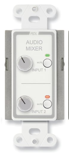Remote Audio Mixing Control with Muting, Stainless
