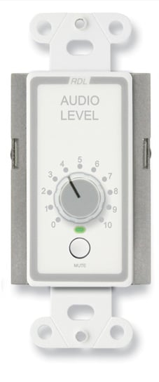Remote Level Control with Muting, Stainless Steel