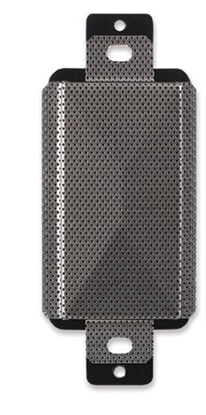 2 Watt Decora-Style 8 Ohm Loudspeaker, Stainless Steel
