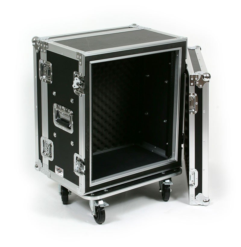 12RU ATA Shock Effects Rack with Casters