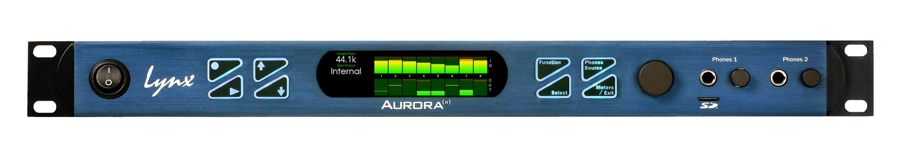 32-channel 24-bit / 192 kHz A/D D/A Converter System [Dante]