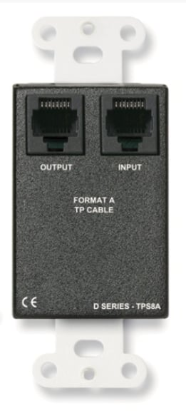 Radio Design Labs DS-TPSM2A Active Two-Pair Sender Dual Microphone Preamplifier, Format-A DS-TPSM2A