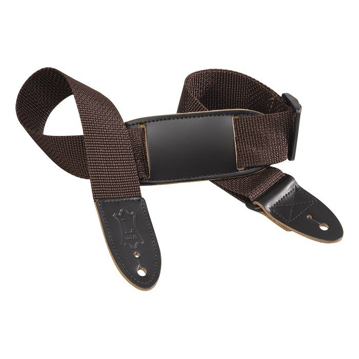 """1.5"""" Ukulele/Youth Guitar Strap in Brown"""