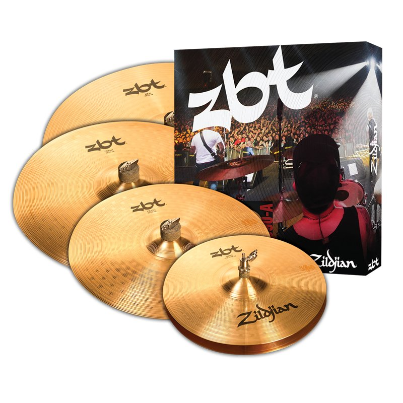 "5 Cymbal Set 14"" Hi-Hats,16"" Crash, 20"" Ride with free 18"" Crash"