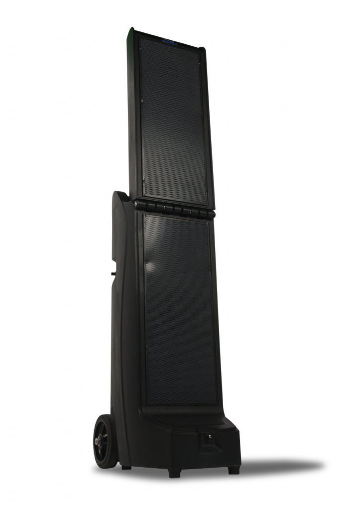 Bigfoot Line Array with CD/MP3 Combo Player, Wireless Receiver