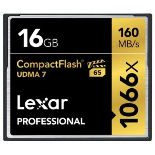 16GB CompactFlash Card, 160MB/s Read, 95MB/s Write