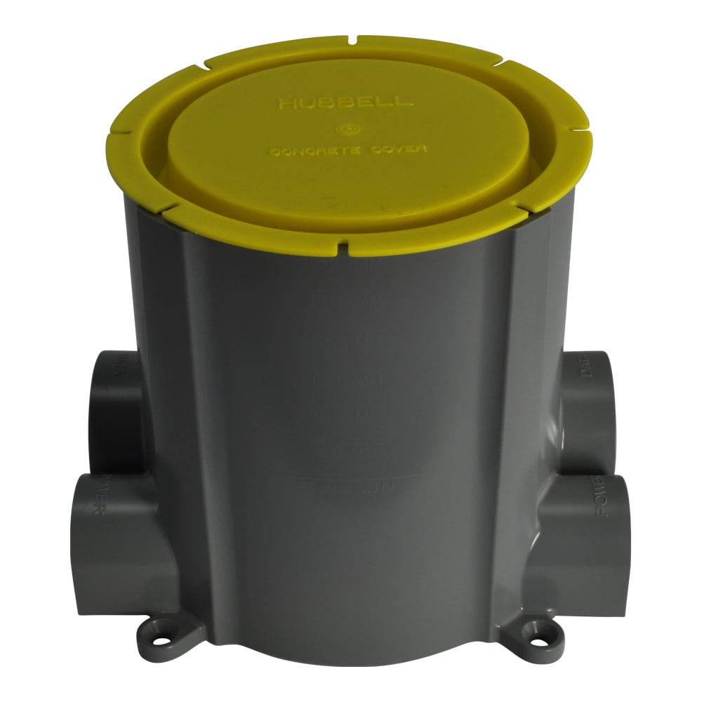 """4"""" SmartFit PVC Concrete Floor Pour Box"""