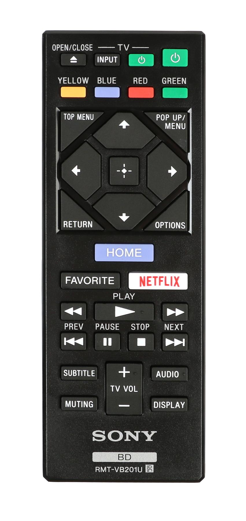 BDPBX370 Remote