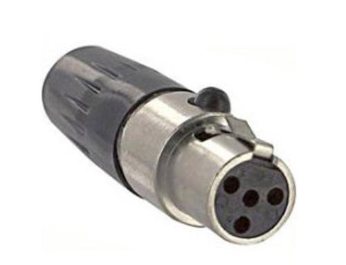Tini-QG 4 Pin Mini XLR Cable Connector