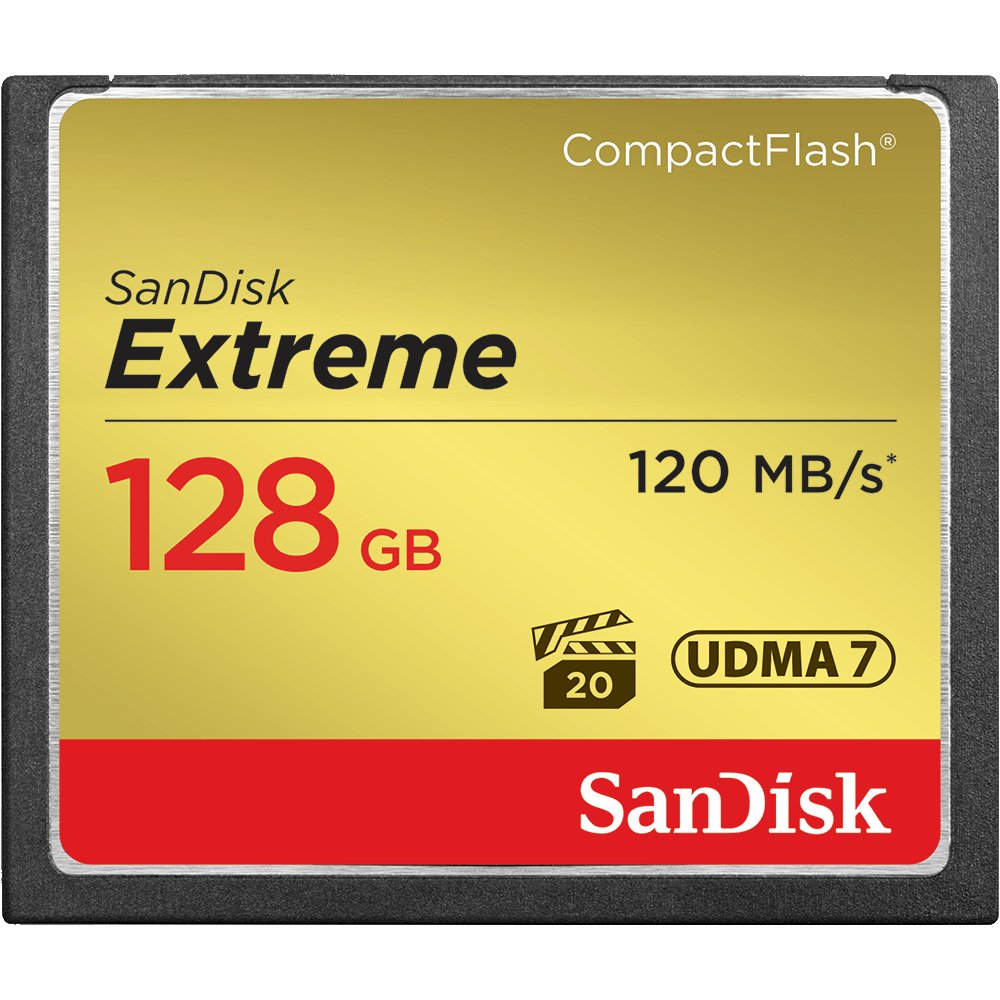 128GB CompactFlash Card, 120MB/s
