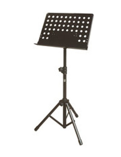 Large Solid Top Tripod Music Stand with Holes