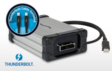 Thunderbolt Adapter for NITRIS DX and MOJO DX