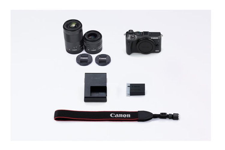 EOS M6 Camera and Lens Kit