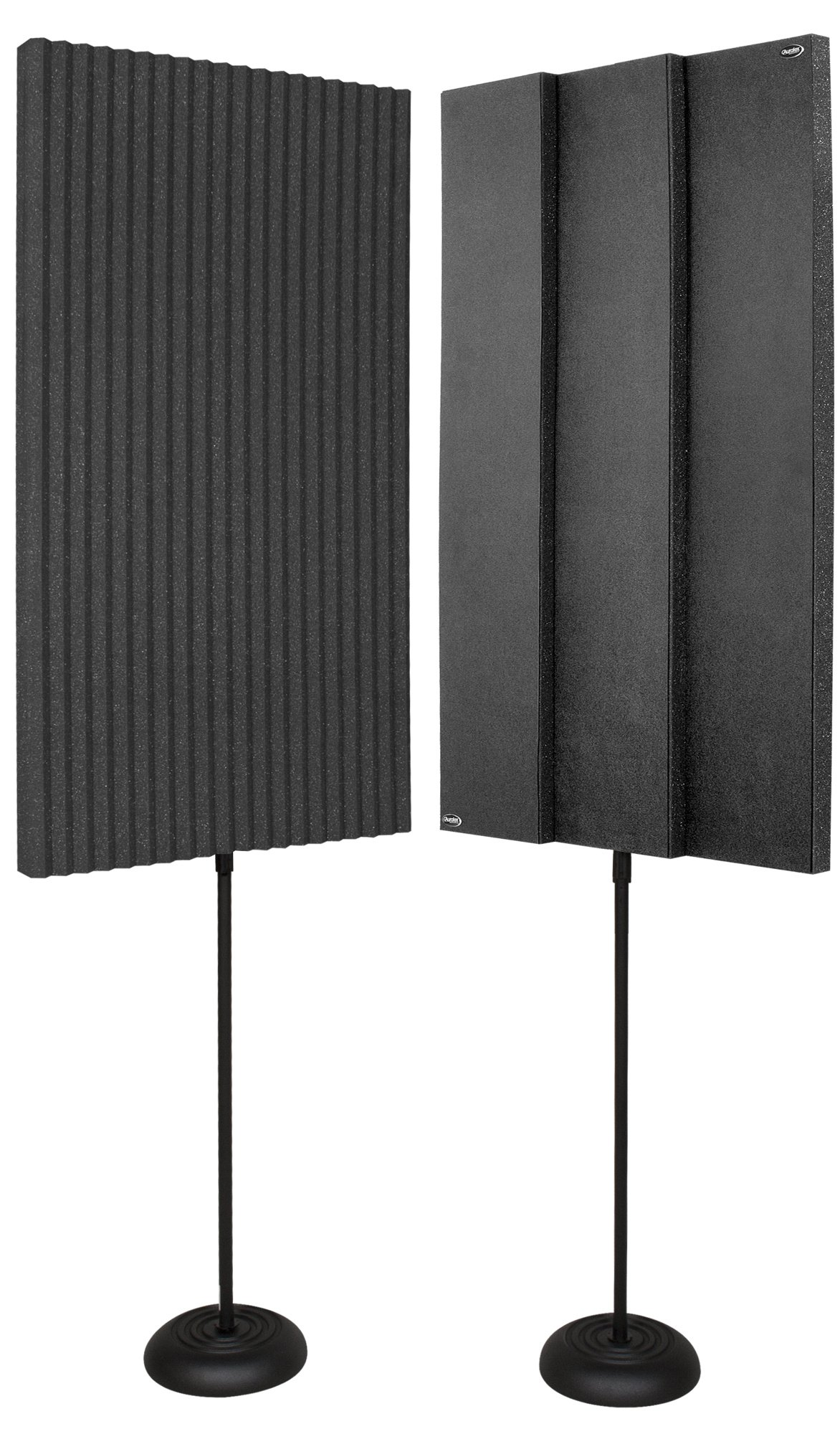"(2) 3"" x 24"" x 48"" ProMAX V2 Panels with (2) Floor Stands"