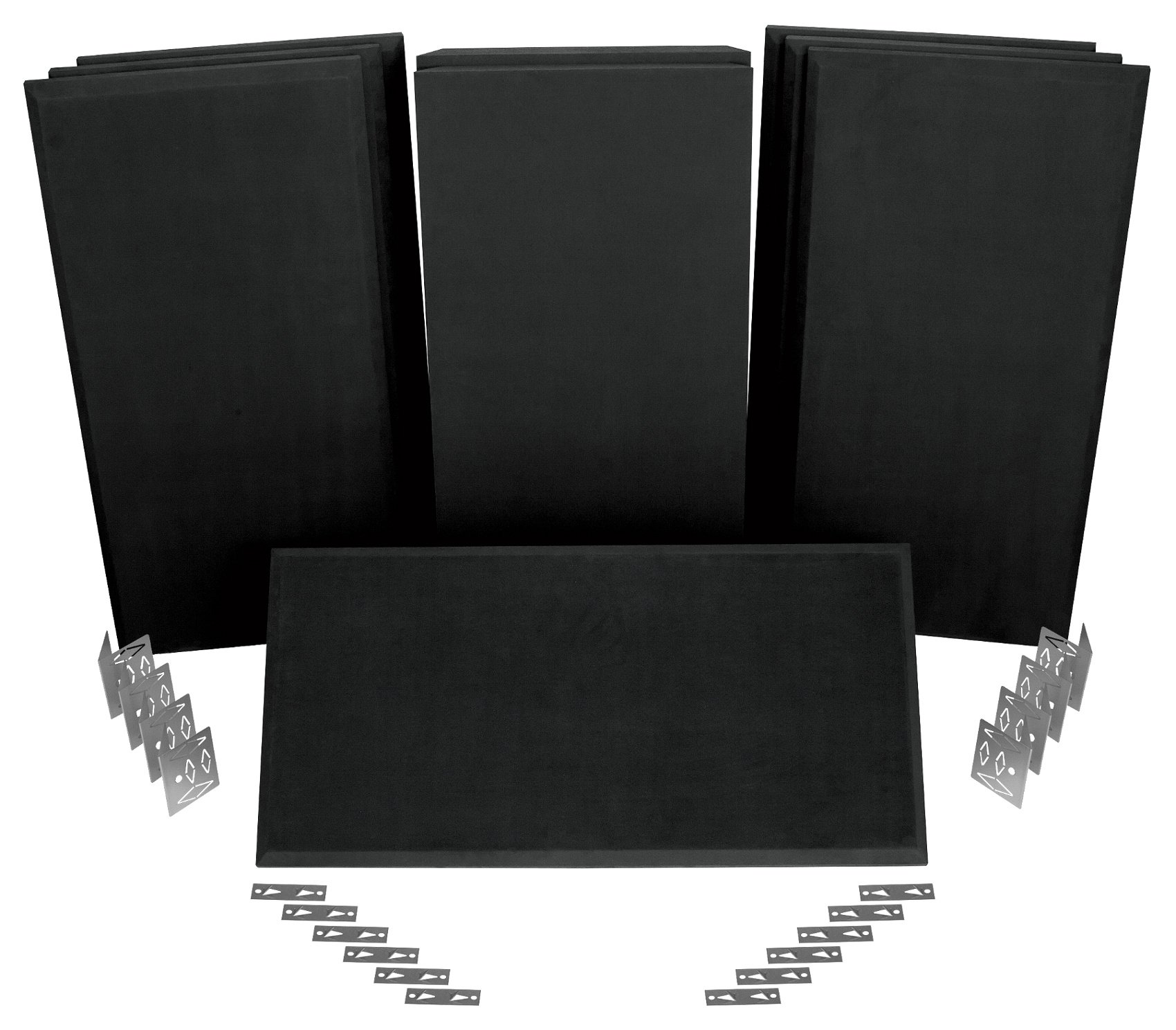 All-In-One Acoustical Treatment System for Rooms 8x10 ft to 12x12 ft