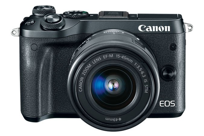 EOS M6 w/ EF-M 15–45mm IS STM Camera Kit
