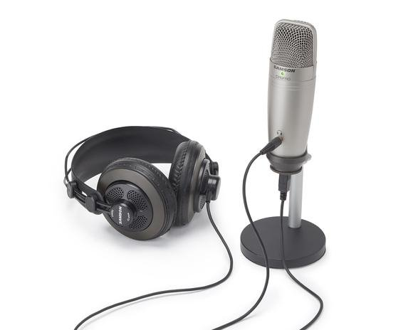 USB Studio Condenser Microphone with Accessories