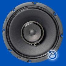 """8"""" Coaxial Loudspeakers, 16 watt (UL Listed) 16W, 8 Ohm"""