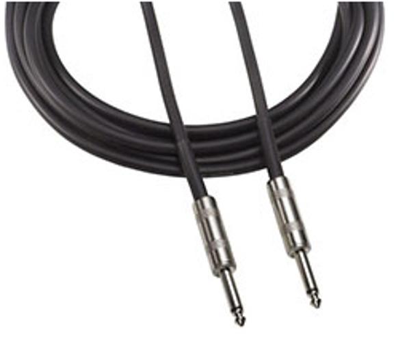 "Speaker Cable, 1/4"" Male TS - 1/4"" Male TS, 25 Feet"