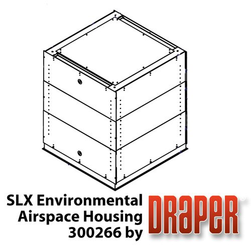 Draper Shade and Screen SLX Environmental Airspace Housing (White) for Scissor Lift SLX 300266