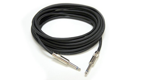 "Speaker Cable, 16 Gauge, 1/4"" to 1/4"" Connectors, 25 Ft"