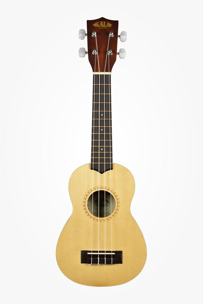Soprano Ukulele with Spruce Top and Mahogany Back, Satin Finish