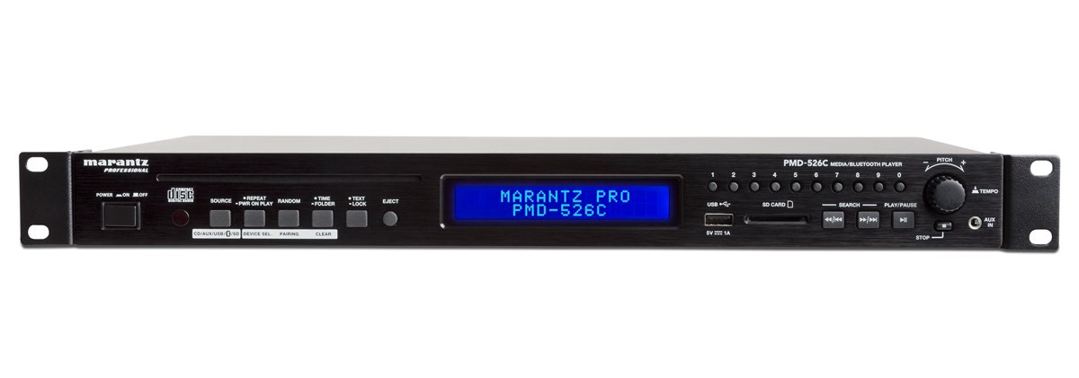 CD/Media/Bluetooth Player with RS-232