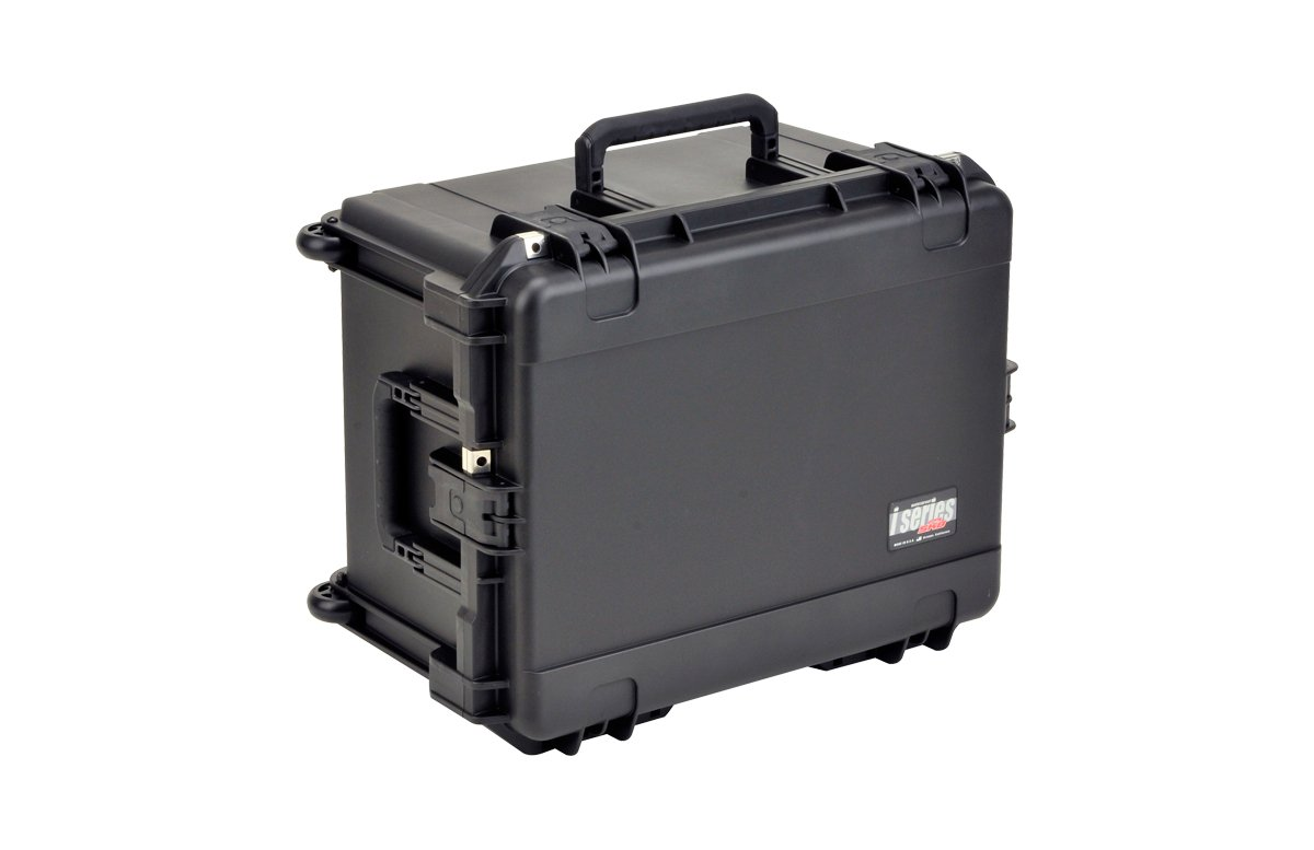 Waterproof Case with Handle, Wheels and Cubed Foam