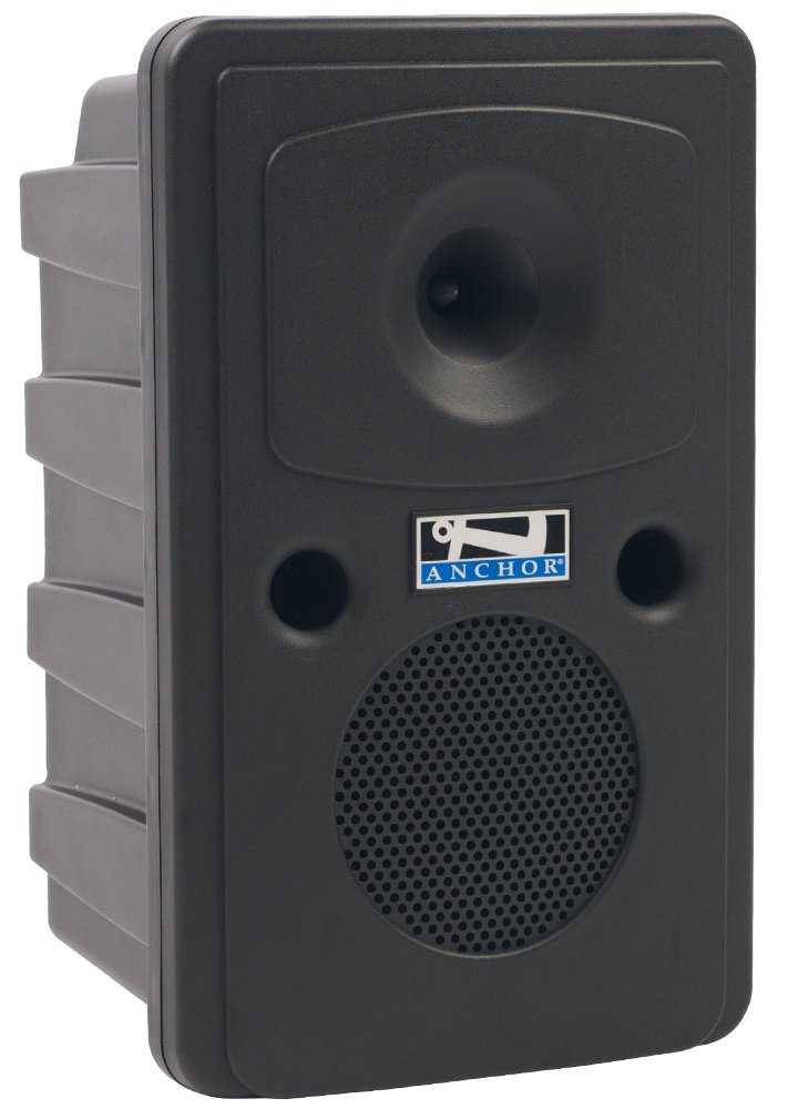 Anchor GG-DPDUAL-CM60 Go Getter Dual Deluxe Bluetooth-enabled PA System with Companion Speaker, Bodypack Transmitter, Collar Microphone and Choice of 2nd Transmitter/Mic GG-DPDUAL-CM60