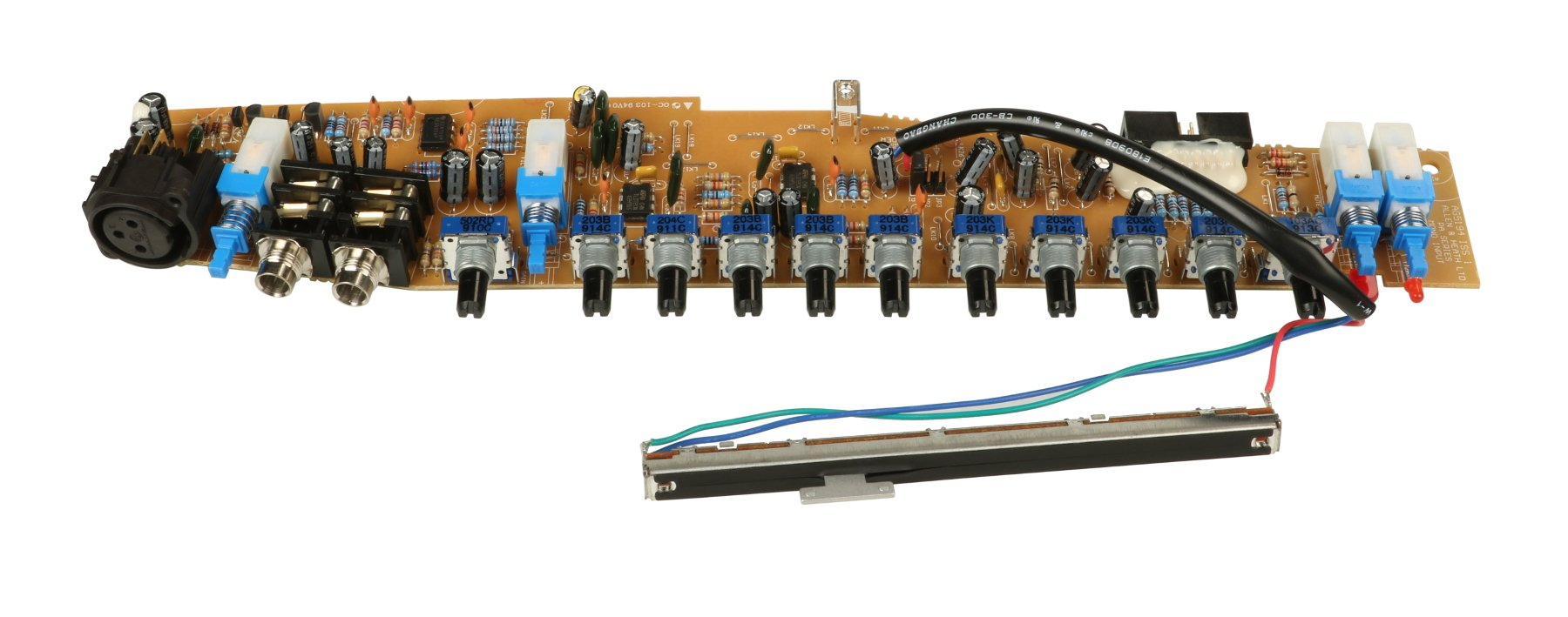 Channel Strip PCB for PA12 and PA28