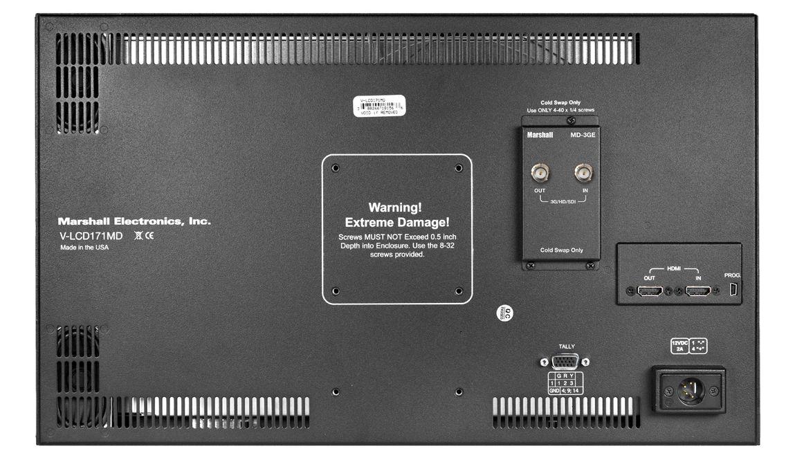 "17.3"" Diagonal Full HD Desktop Monitor with HDMI In"