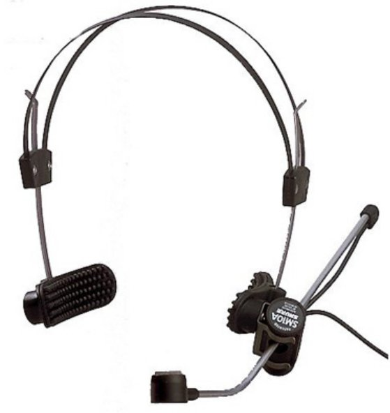 Headworn Cardioid Dynamic Microphone with Cable