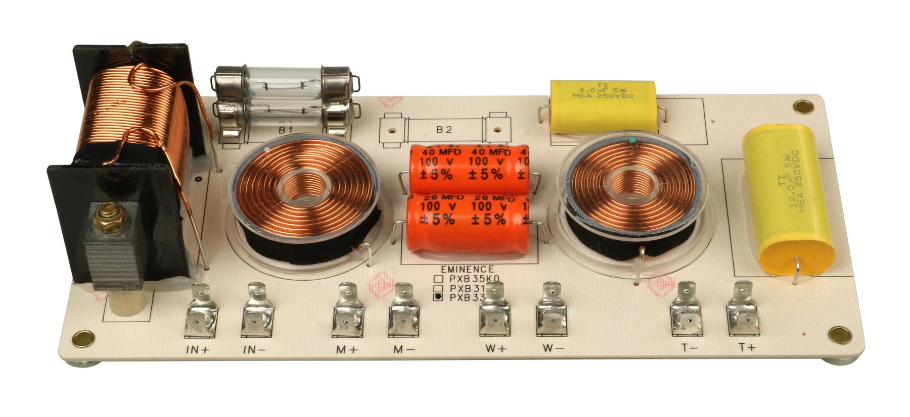 Eminence PXB3:3K5 3-way Crossover 500hz//3.5khz