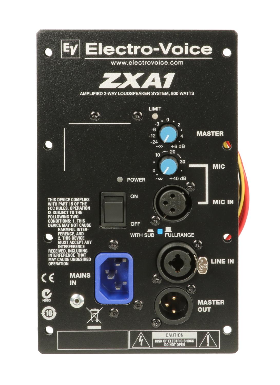 Amp Assembly for EV ZXA1