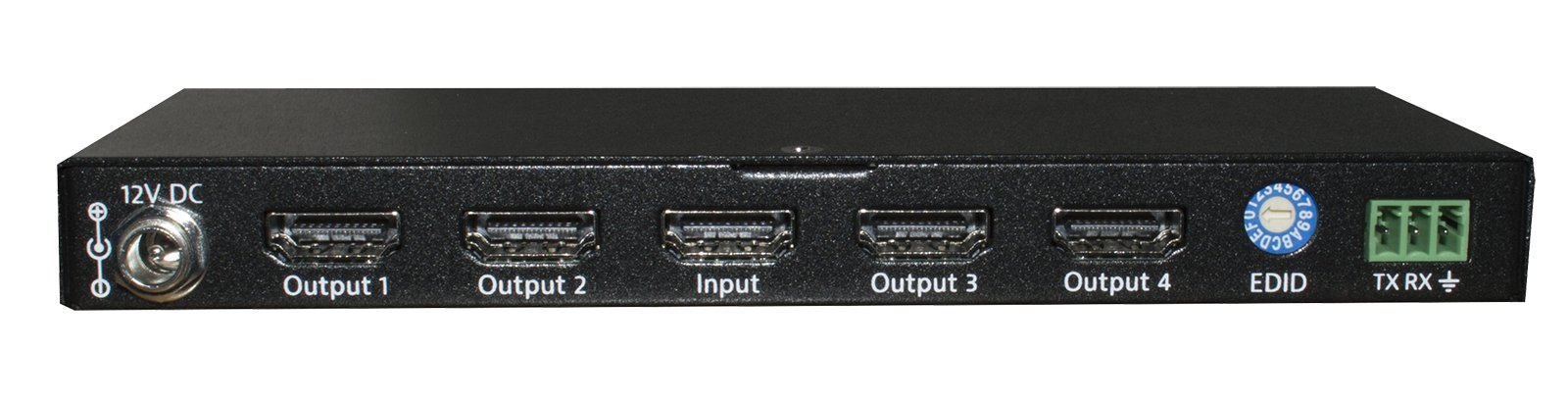 1x4 HDMI 2.0 18G Distribution Amplifier Supports 4K60 4:4:4