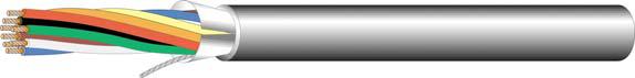 Cable, 8 Cond 22GA Shielded Plenum