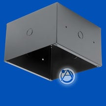 "Extra Deep Rectangular Enclosure for 8"" Loudspeakers"