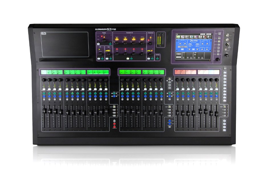 Digital Mixer with 28 Faders and 48 Input Processing Channels, Chrome Edition