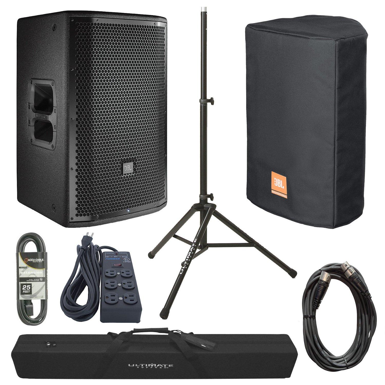 PRX815W Kit with PRX815W and Cover, 25-MIC, TS80B, BAG-90, EC123-25, and SS6B