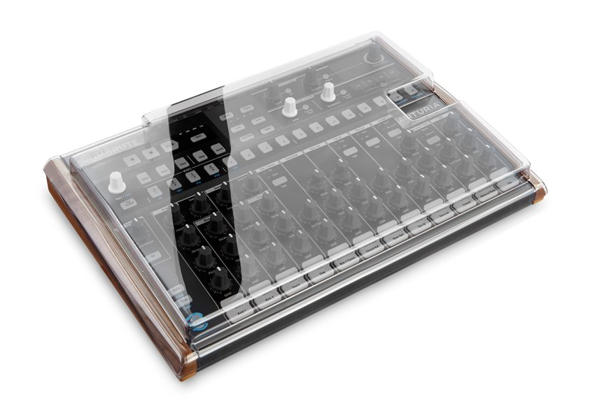 Smoked/Clear Dust Cover for Arturia Drumbrute