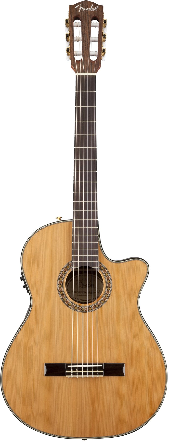 Thinline Classical Acoustic Guitar, Solid Cedar Top